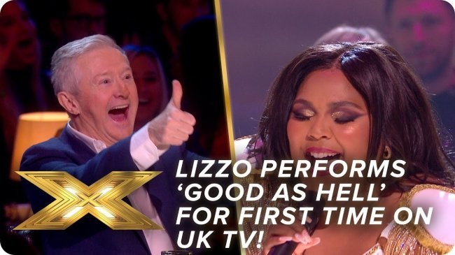 Lizzo performs 'Good As Hell' for FIRST TIME on UK TV | Live Show 4 | X Factor: Celebrity - Видео новости